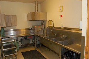 Dishwashing Area