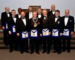 Alki Lodge #152 Installation of 2014 officers, December 8, 2013